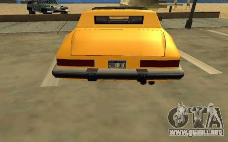 GTA V to SA: Realistic Effects v2.0 para GTA San Andreas novena de pantalla
