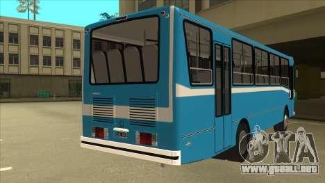 Mercedes-Benz OHL-1320 Linea 123 para la visión correcta GTA San Andreas