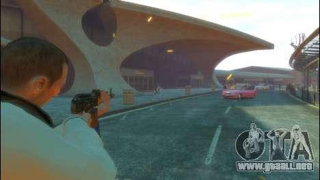 AK-47 para GTA 4 quinta pantalla