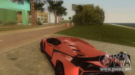 Lamborghini Veneno para GTA Vice City visión correcta