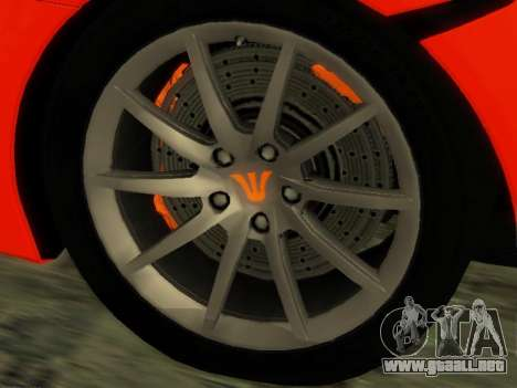 McLaren MP4-12C WheelsAndMore para GTA San Andreas
