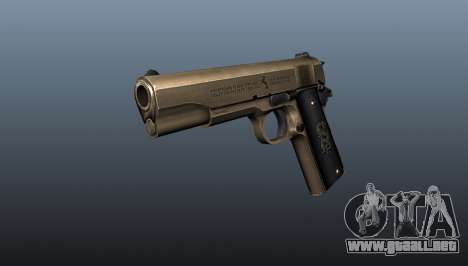 Pistola M1911 v2 para GTA 4
