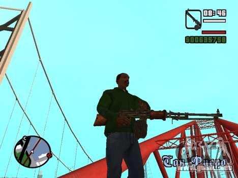 Ametralladora ligera (RAP) [la citación necesitó para GTA San Andreas tercera pantalla