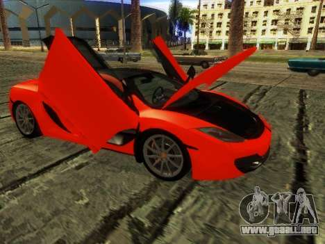 McLaren MP4-12C WheelsAndMore para GTA San Andreas left
