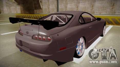 Toyota Supra RZ para la visión correcta GTA San Andreas