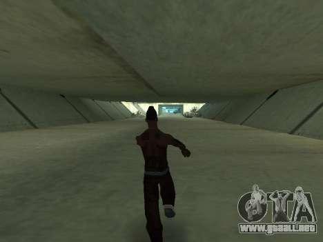 Bailan para GTA San Andreas tercera pantalla