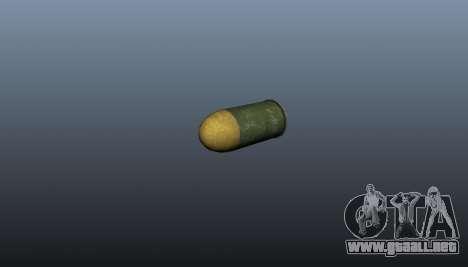 El lanzagranadas XM-25 para GTA 4 adelante de pantalla