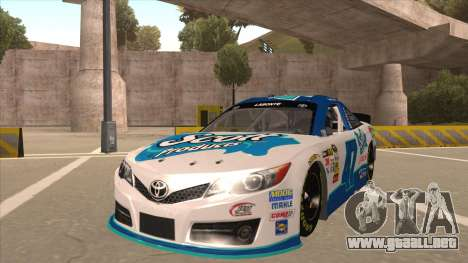 Toyota Camry NASCAR No. 47 Scott para GTA San Andreas