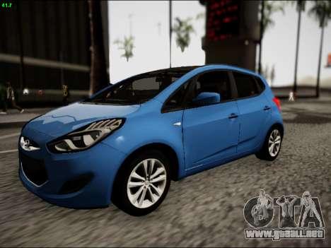 Hyundai ix20 para GTA San Andreas left