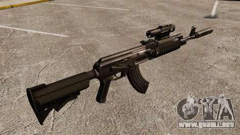 AK-47 (táctico) para GTA 4 segundos de pantalla