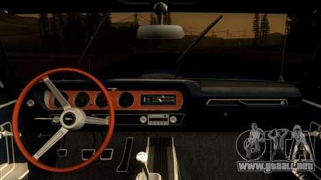 Pontiac Tempest LeMans GTO Hardtop Coupe 1965 para la visión correcta GTA San Andreas