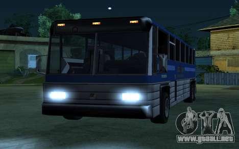 New Coach para GTA San Andreas