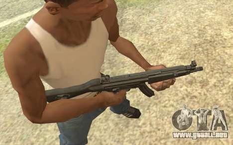 HK MP5 para GTA San Andreas segunda pantalla