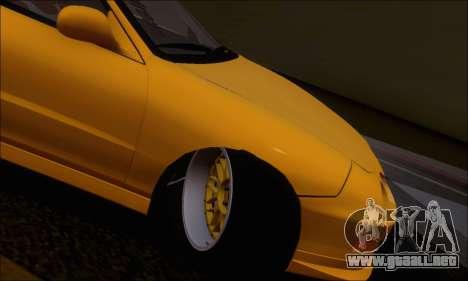 Honda Integra Type-R Hellaflush para visión interna GTA San Andreas