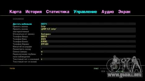Texto arco iris para GTA 4 segundos de pantalla