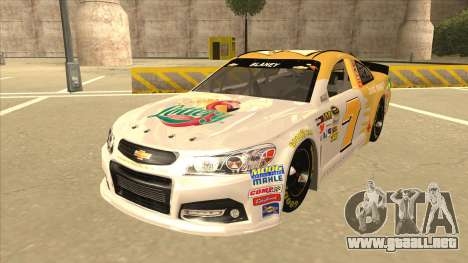 Chevrolet SS NASCAR No. 7 Florida Lottery para GTA San Andreas
