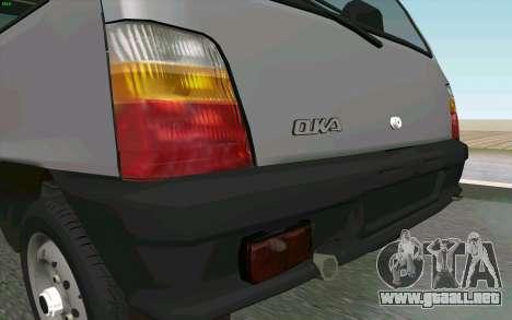 Kamaz Oka para GTA San Andreas vista hacia atrás