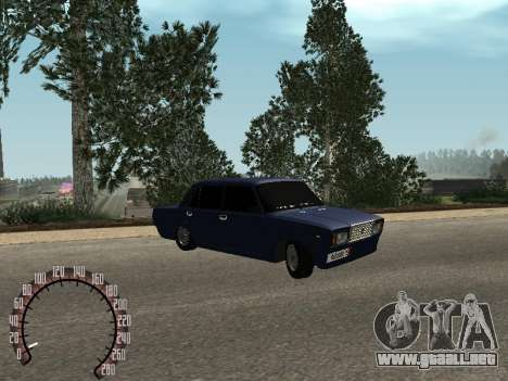 BPAN VAZ 2107 para GTA San Andreas left