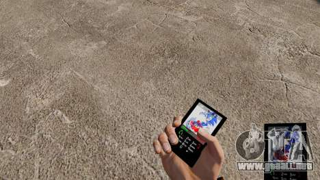 Sonic tema para tu teléfono para GTA 4