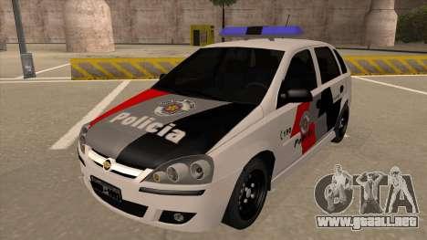 Chevrolet Corsa VHC PM-SP para GTA San Andreas