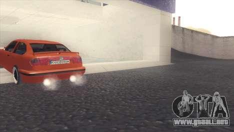 Seat Cordoba SX para la visión correcta GTA San Andreas