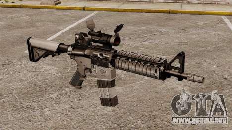 Automático carabina M4 CQBR v2 para GTA 4