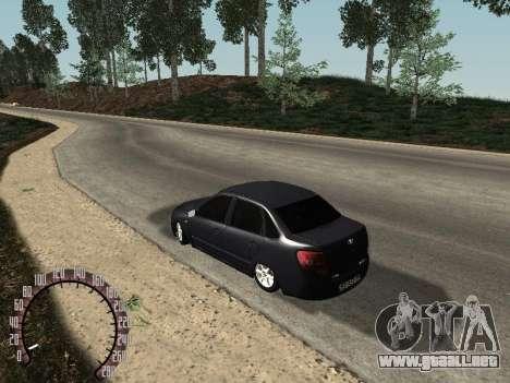 VAZ 2190 para la visión correcta GTA San Andreas