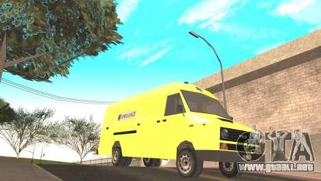 Iveco Daily 35 I minibus 1978 para la visión correcta GTA San Andreas