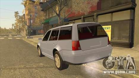 Volkswagen Jetta Wagon para GTA San Andreas left