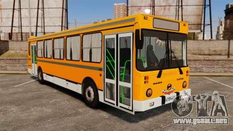 LIAZ-5256 45-01 para GTA 4