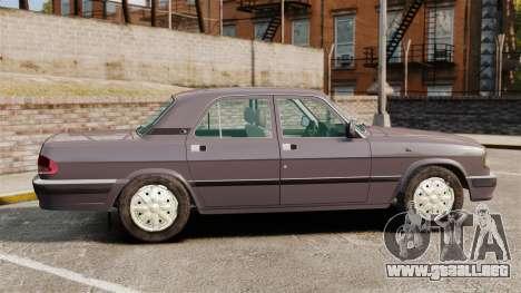 Volga GAZ-3110 para GTA 4 left