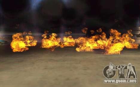 GTA V to SA: Realistic Effects v2.0 para GTA San Andreas tercera pantalla