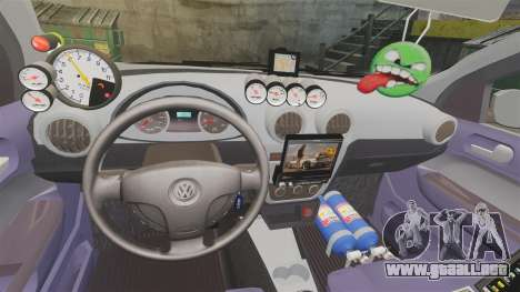 Volkswagen Gol Rally 2012 Socado Turbo para GTA 4 vista superior