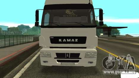KAMAZ 5490 para GTA San Andreas