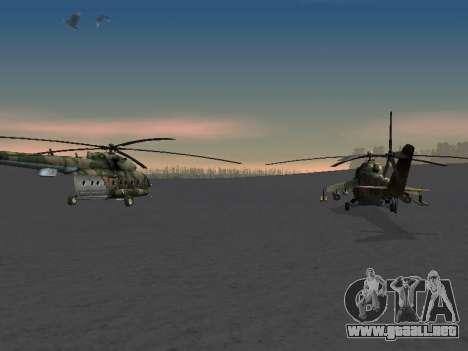 MI-8 para visión interna GTA San Andreas