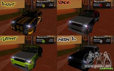 Blista Compact Type R para vista inferior GTA San Andreas
