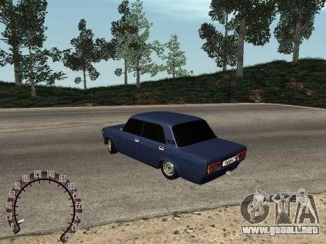 BPAN VAZ 2107 para la visión correcta GTA San Andreas