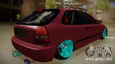 Honda Civic EK9 Drift Edition para la visión correcta GTA San Andreas