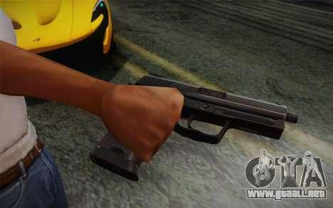 USP45 sin silenciador para GTA San Andreas