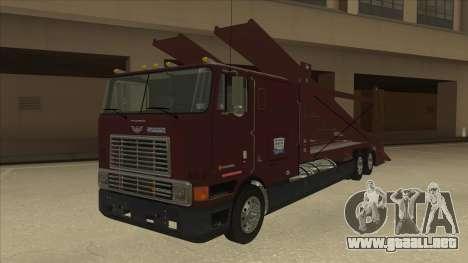 International 9700 Car Hauler para GTA San Andreas