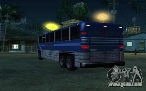 New Coach para la visión correcta GTA San Andreas