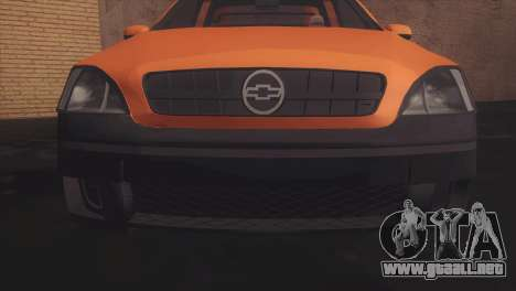 Chevrolet Montana Combo para GTA San Andreas left
