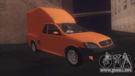 Chevrolet Montana Combo para la visión correcta GTA San Andreas