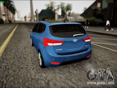 Hyundai ix20 para GTA San Andreas vista posterior izquierda