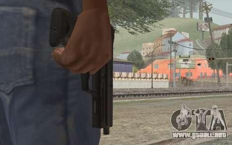 USP45 sin silenciador para GTA San Andreas tercera pantalla