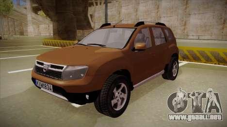 Dacia Duster Elite para GTA San Andreas