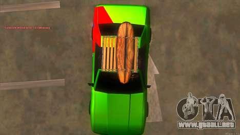 Elegy New Year for JDM para la vista superior GTA San Andreas