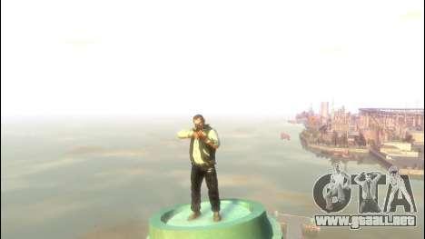 Rifle de francotirador Dragunov para GTA 4 adelante de pantalla