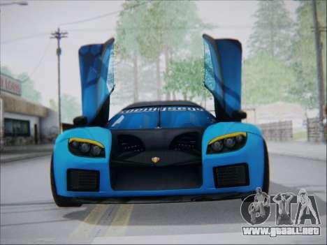 Koenigsegg CCX Elite para GTA San Andreas