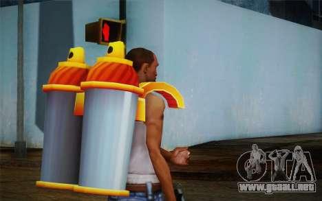 Jetpack from Subway Surfers para GTA San Andreas